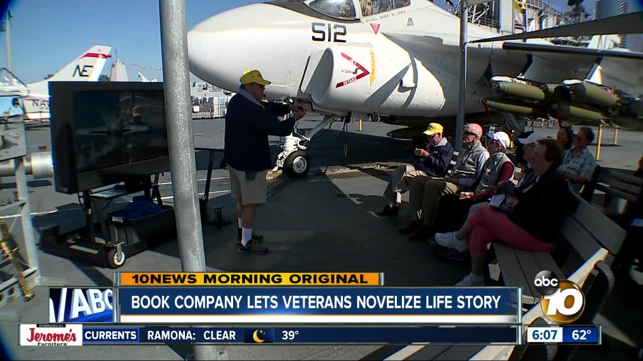 Book-writing service gives Veterans a chance to preserve their stories