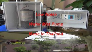 Water mist system with low noise made in Thailand