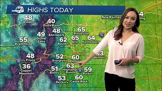 Warmer weather for Colorado this weekend