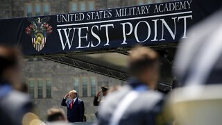 President Trump Gives Commencement Speech For West Point Cadets