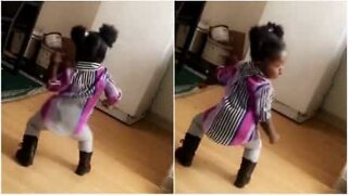 Child dancing to Cardi B has got some serious moves