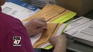 Absentee ballots did not include local proposal