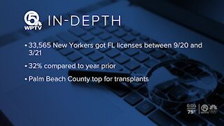 Surge of New Yorkers relocating to Florida, new numbers show