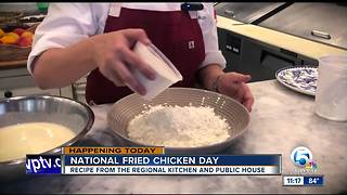 Chef Lindsay Autry's Sweet Tea Fried Chicken