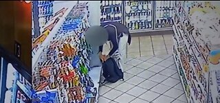 VIDEO: Local gas station frustrated with petty thefts; thieves caught on camera