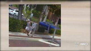 Fort Myers Police searching for two suspects involved in traffic stop assault