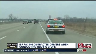 Troopers combat distracted drivers during traffic stops
