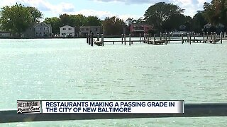 Restaurants making a passing grade in the city of New Baltimore