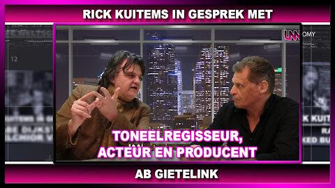 Rick Kuitems in gesprek met, Ab Gietelink