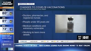 DeSantis expands vaccine access for 'extremely vulnerable' people under 65