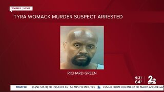 Tyra Womack murder suspect arrested