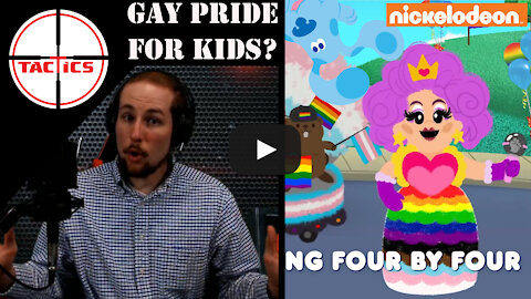 Blue's Clues Promotes Homosexuality, Transgenderism, and Socialism to Little Kids