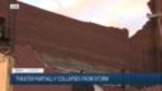 Portion of State Theater collapses in Sandusky during storm