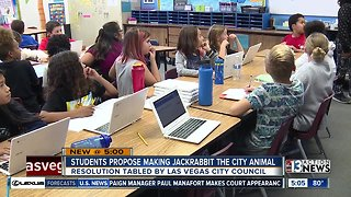 Elementary students propose city animal