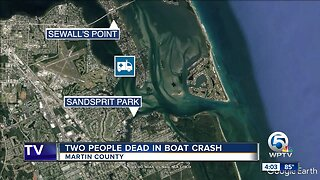 1-year-old girl, adult woman killed in Martin County boat crash