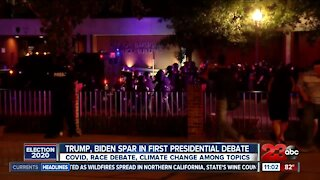 Local experts react to first Presidential Debate
