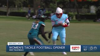 Palm Beach Coyotes win home opener 36-6