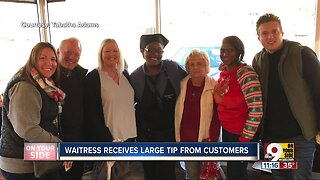 Waffle House patrons surprise waitress with $800 tip for Christmas