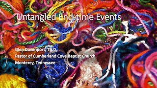 Untangled End-time Events (UE-TE 1) Don't Be Afraid