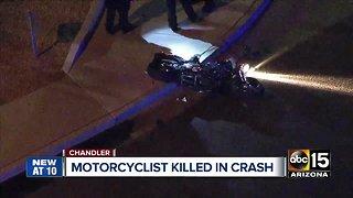Chandler police investigating deadly motorcycle crash