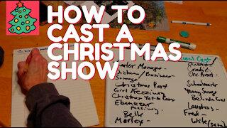 Casting A Christmas Carol - How to Cast a Theatre Production