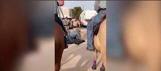 Las Vegas 'cowboy arrest' going viral