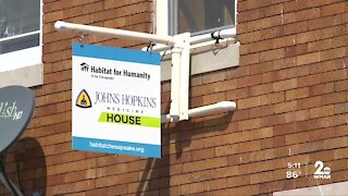 Habitat for Humanity restarts work on first home since pandemic began