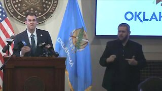 Gov. Stitt issues new executive orders to stop COVID-19 spread