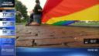 Pride flag unfurling in St. Pete