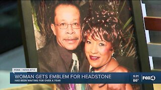 Fox 4 helps Cape Coral woman honor late husband's military career
