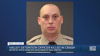 Valley detention officer killed in crash