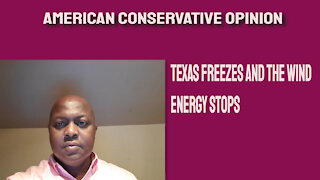Texas freezes and the wind energy stops
