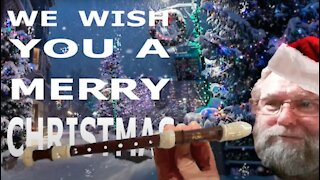 How to Play We Wish You A Merry Christmas on the Recorder