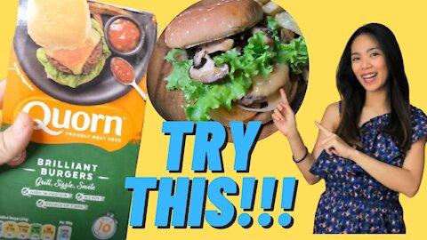 Quorn Brilliant Burger | Plant Based Burger Recipe | Plant Based Recipes