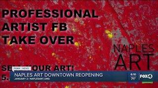 Naples Art Reopens