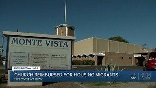 Valley church reimbursed for housing migrants