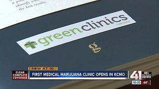 KC's first medical marijuana clinic open for business