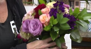 Flower shops doing well on Valentine's Day in Las Vegas