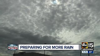Valley prepares for another round of storms