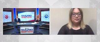 Nevada Young Republicans representative Election Day interview