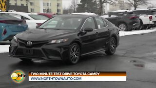 TWO MINUTE TEST DRIVE - TOYOTA CAMRY