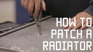 How to Fix and Patch a Radiator   Vehicle Survival skills   Tactical Rifleman
