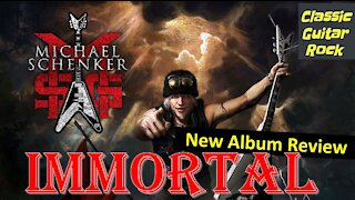 """New Album Review: Michael Schenker Group's """"Immortal"""" is the best MSG album since """"Assault Attack""""."""