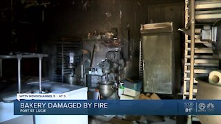 Port St. Lucie bakery damaged by fire, family recipes saved