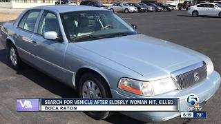 Driver sought in deadly hit-and-run crash in suburban Boca Raton