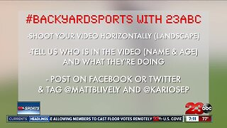 Submit your videos for #BackYardSports