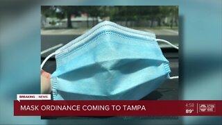 Mask ordinance coming to Tampa