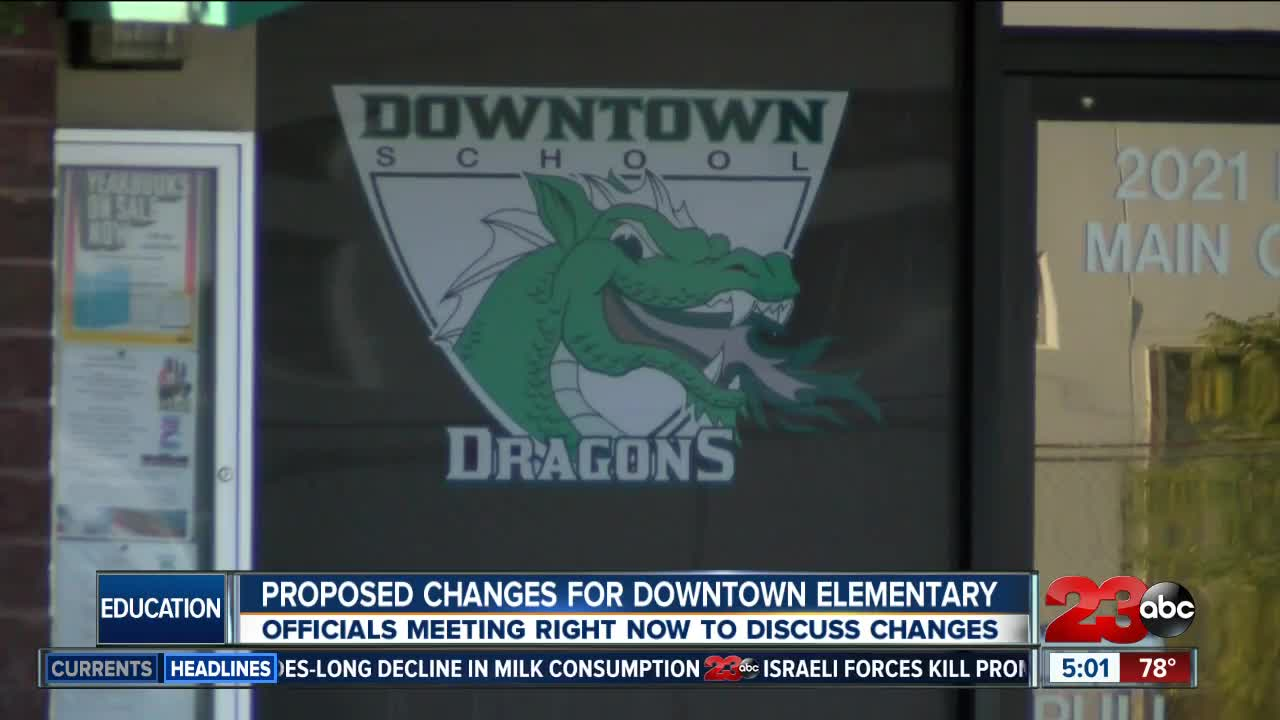District proposes changes to downtown elementary school