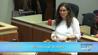 Dozens packed Hillsborough County School Board meeting after district announced cutting positions