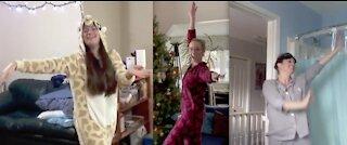 This Christmas - Dancing at Home
